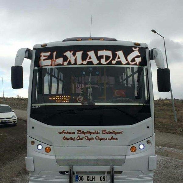 Elmadağ Özel Halk Otobüs Seferleri