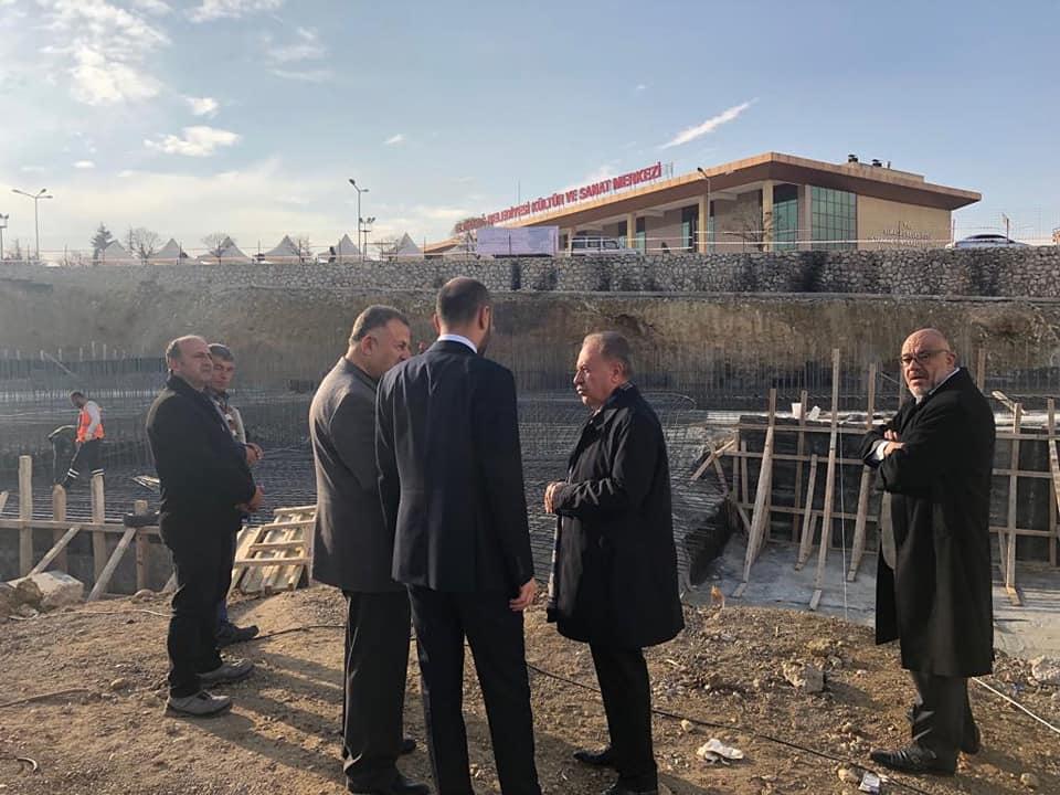 Elmadağ Kapalı Otopark ve Pazar Alanı inşaat çalışmamız hızla devam etmektedir.
