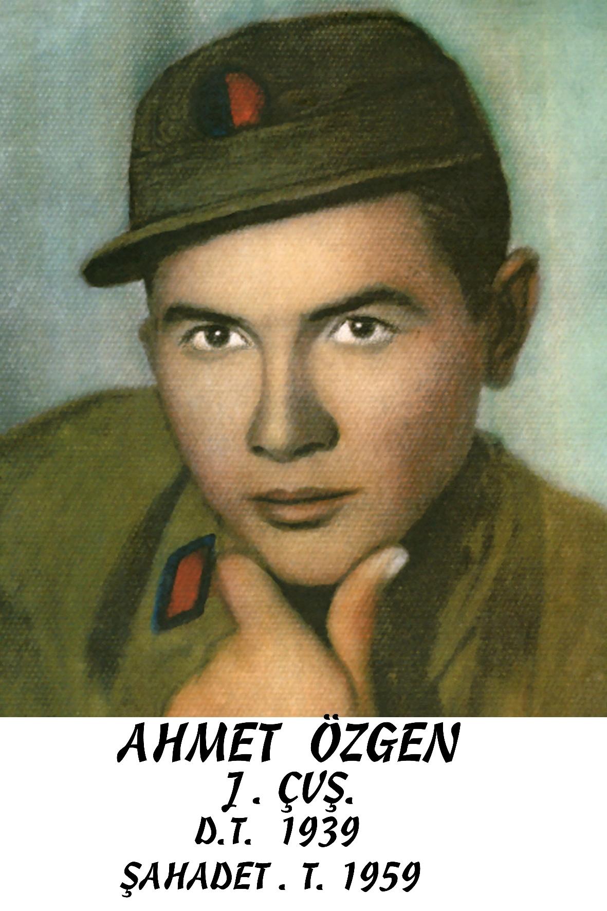 AHMET ÖZGEN